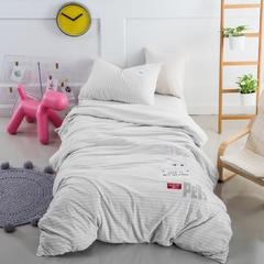 婴童套件萌萌兔针织棉 1.5m(5英尺)床 灰色