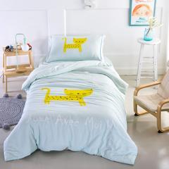 婴童套件幸运猫 1.5m(5英尺)床 幸运猫-嫩绿