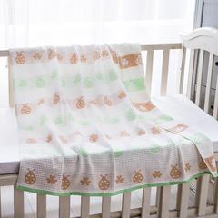 童毯纱布童毯(七彩瓢虫105*105cm) 2