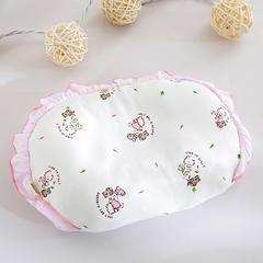 婴童枕头(针织印花小米枕20*30) 粉色