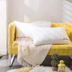 境月超柔纤维枕(情侣款)48x74cm/只 超柔纤维枕(情侣款)