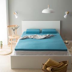 境月乳胶床垫 180*200*5cm 湖水蓝