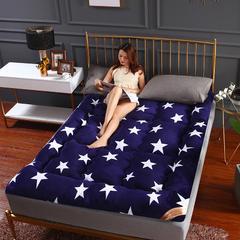 席洋洋家纺爆款法莱绒床垫 90*200cm 浪漫星空