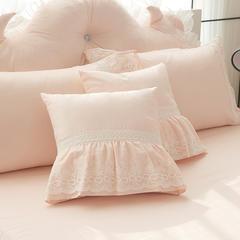 全棉斜纹款系列 茜茜公主 单品羊角大靠背 1.2米 浅白玉