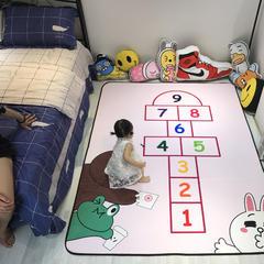 婴童用品 儿童卡通加厚复合地垫 50X80cm 跳格子