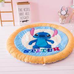 婴童用品 婴童加厚爬爬垫圆地垫 直径140cm 公仔迪