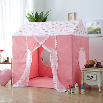 婴童用品 儿童帐篷 1.2*1.4*1.43/帐篷 火烈鸟-粉色