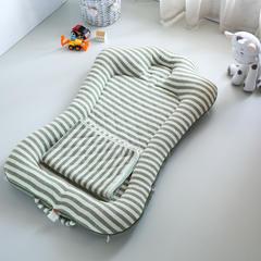 2018新款A类无印 ins风折叠便携床中床 80*120cm 配套毯子