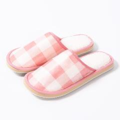 赠品大世界格子拖鞋 女码37/38 4