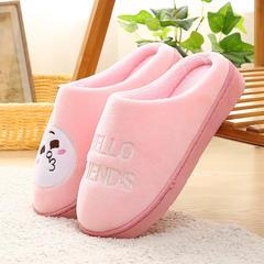 赠品大世界卡通拖鞋 女款36/37 肯尼兔粉红