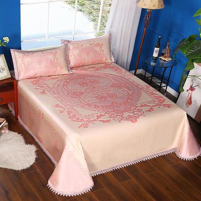 600D可水洗床单款 2.5m*2.5m 16803-罗马假日-粉