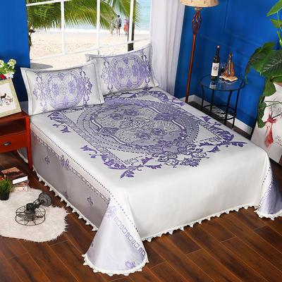 600D可水洗床单款 2.5m*2.5m 16803-罗马假日-紫