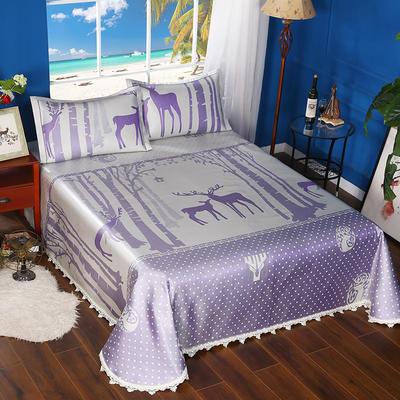 600D可水洗床单款 2.5m*2.5m 16804-魔幻森林-紫