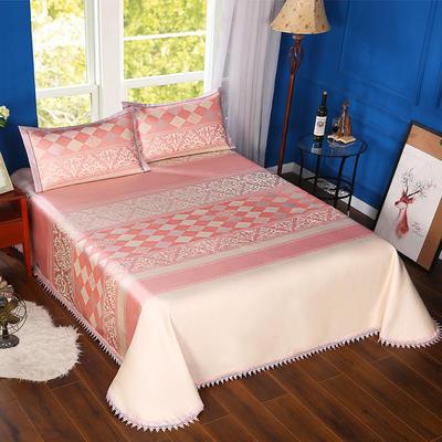 600D可水洗床单款 2.5m*2.5m 16806-都市风韵-粉