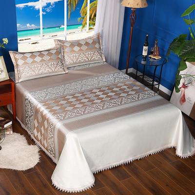 600D可水洗床单款 2.5m*2.5m 16806-都市风韵-银金