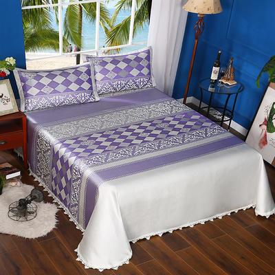 600D可水洗床单款 2.5m*2.5m 16806-都市风韵-紫