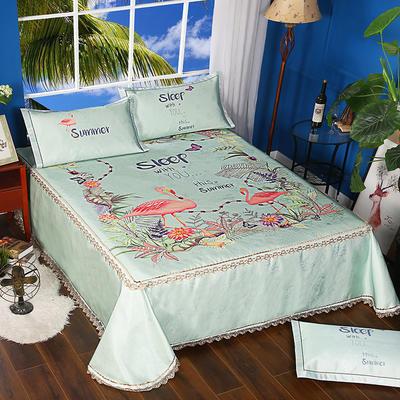 600D可水洗印花床单款 2.5m*2.5m 16808-蜜意丛林-二合一床单款