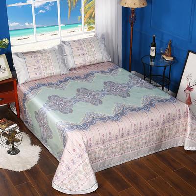 600D可水洗印花床单款 2.5m*2.5m 168010-迷梦花香床单款