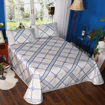 600D可水洗印花床单款 2.5m*2.5m 168012-悠然格调-蓝