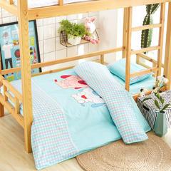 福豆家纺  全棉儿童幼儿园被子三件套 含芯六件套幼儿园午睡被子 均码 快乐萌宠
