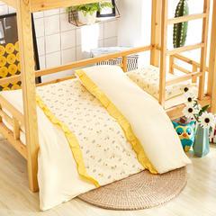 福豆家纺  全棉儿童幼儿园被子三件套 含芯六件套幼儿园午睡被子 均码 旅行乐园