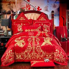 欧式婚庆多件套(二)喜结良缘 信封枕 六件套(床盖式 )