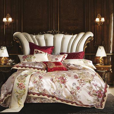 欧式套件多件套四六八件套 1.5m(5英尺)床 浓情百丽