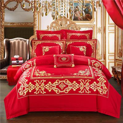 婚庆多件套-巴黎风情 长方形腰靠/个 八件套(床盖式)