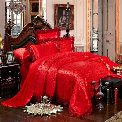 婚庆多件套-英伦风情 标准(1.5-1.8m床) 四件套(床单式)