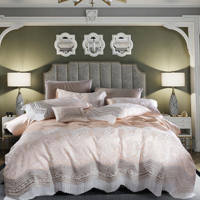 2020新款80长绒棉多件套-蒙娜丽莎 1.5-1.8m床单款四件套 蒙娜丽莎 香槟色