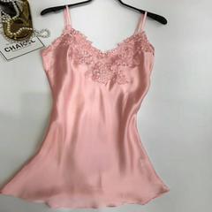 2018吊带不规则款 XL(135斤内) 水粉色