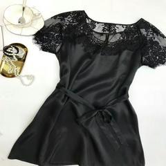 2018短袖套裙<可外穿> XL(130斤内) 玛瑙黑