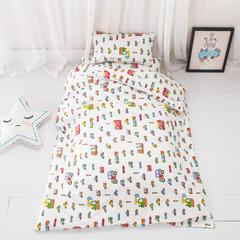 2018新款-60s133*72婴儿幼儿园儿童全棉三件套(可拆买) 单枕套30*50cm 小汽车