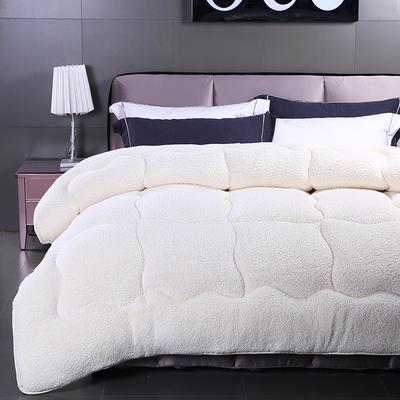 羊羔絨冬被 1.0*1.5/2.5斤 白色