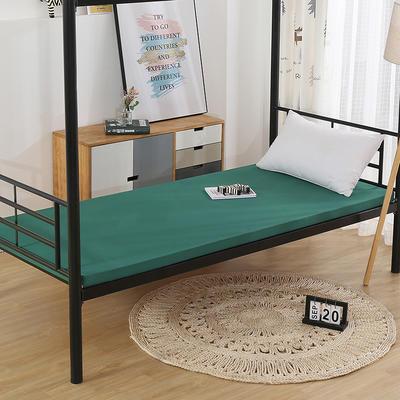 2020新款-高回弹立体海绵床垫 90*200 墨绿5cm