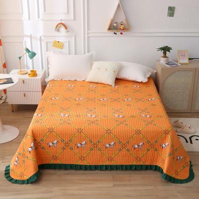 2021新款亲肤棉花边款床盖 230cmx250cm 艾玛格