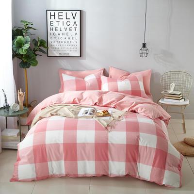 9020水洗棉(无印良品风格)四件套 1.8m(6英尺)床 自由风情