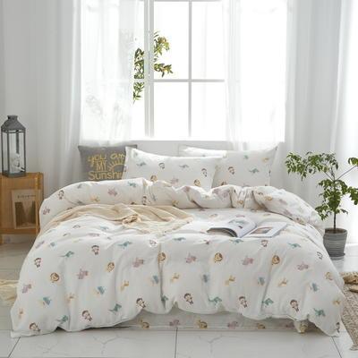 全棉双层纱四件套 1.5m(5英尺)床 嬉戏谷