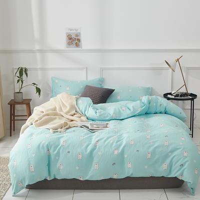 全棉双层纱四件套 1.5m(5英尺)床 皮特-兰