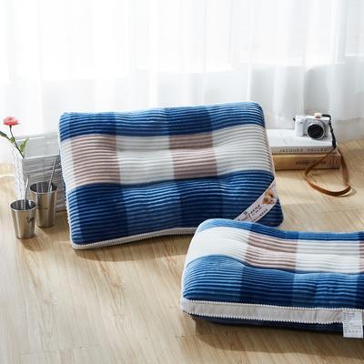格调生活保健枕 48*74/只格调生活 蓝色