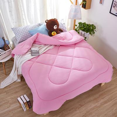 性价比之王—纯色暖冬被 150x200cm4斤 纯色暖冬被—粉色