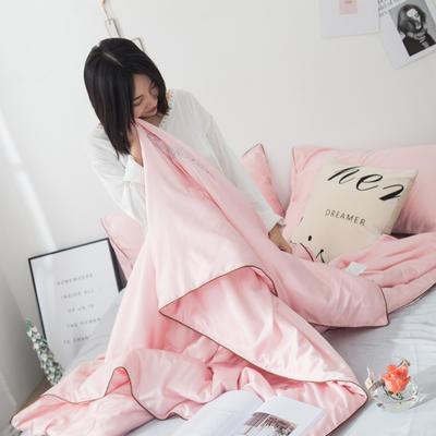 2019新款凉感真丝夏被 150x200cm 魅力粉