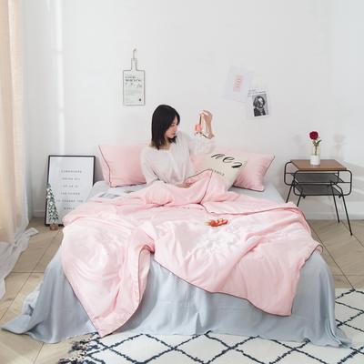2019新款超水心真丝夏被 150x200cm 魅力粉