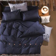芦荟棉纽扣款四件套 2.0m(6.6英尺)床 爱上西雅图