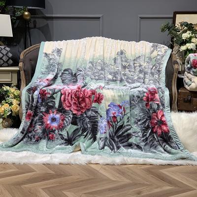 2019新款拉菲丝毯 200cmx230cm 繁华似锦