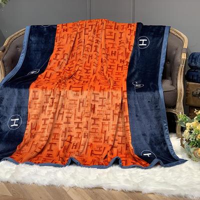 2020新款-AB版复合毛毯 150×200 那不勒斯
