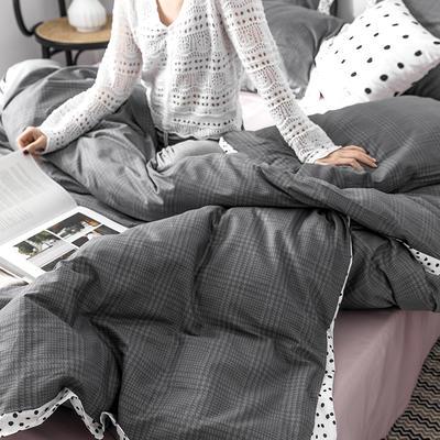 2019新款北欧风宽边工艺款四件套 1.2m床单款三件套 水星记