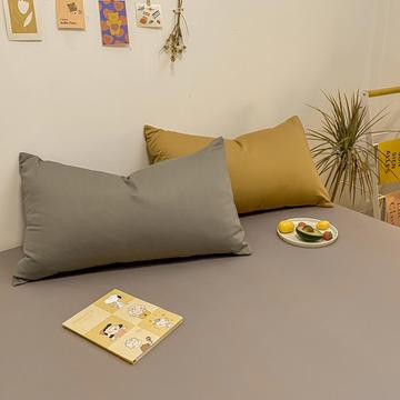 2021新款-全棉水洗棉混搭款单枕套实拍图