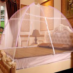 钢丝魔术免安装蒙古包蚊帐 120x200cm 白色