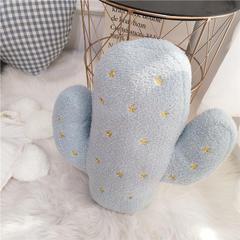 ins风仙人掌抱枕 草莓抱枕 菠萝抱枕 拍照道具 尺寸 仙人掌40X45cm